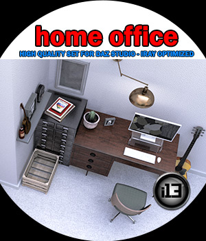 i13 Home Office 3D Models ironman13