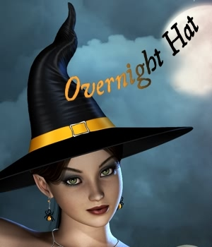 Overnight Hat 3D Figure Essentials 3D Models fabiana