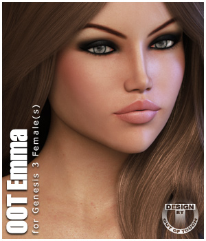 Emma for Genesis 3 Female(s) 3D Figure Assets outoftouch