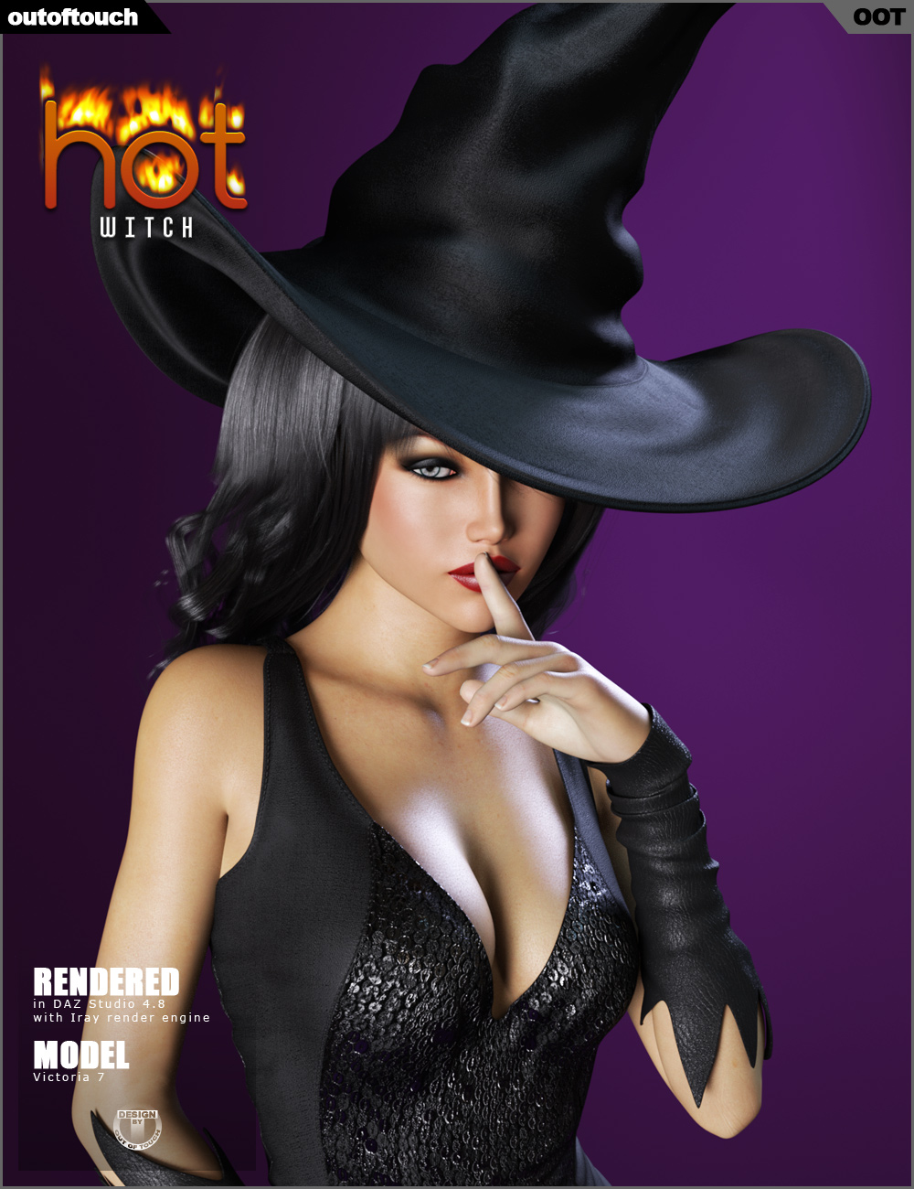 Hot Witch For Genesis 3 Female S 3d Figure Assets Outoftouch