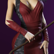 HOT Witch for Genesis 3 Female(s) image 1