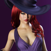 HOT Witch for Genesis 3 Female(s) image 3