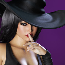 HOT Witch for Genesis 3 Female(s) image 5