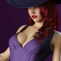 HOT Witch for Genesis 3 Female(s) image 7