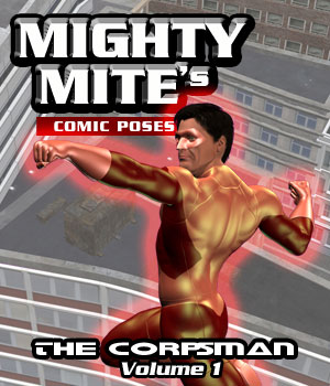 The Corpsman v01 MM4M 3D Figure Assets MightyMite