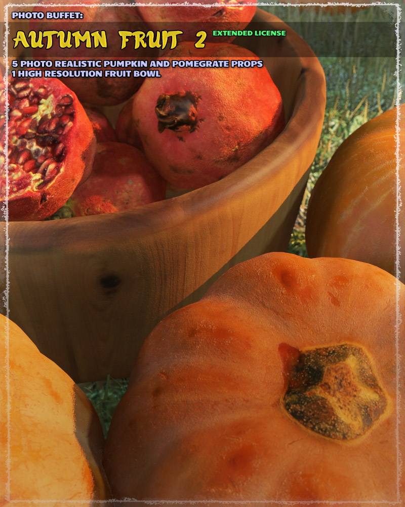 Photo Buffet: Autumn Fruit 2 - Extended License