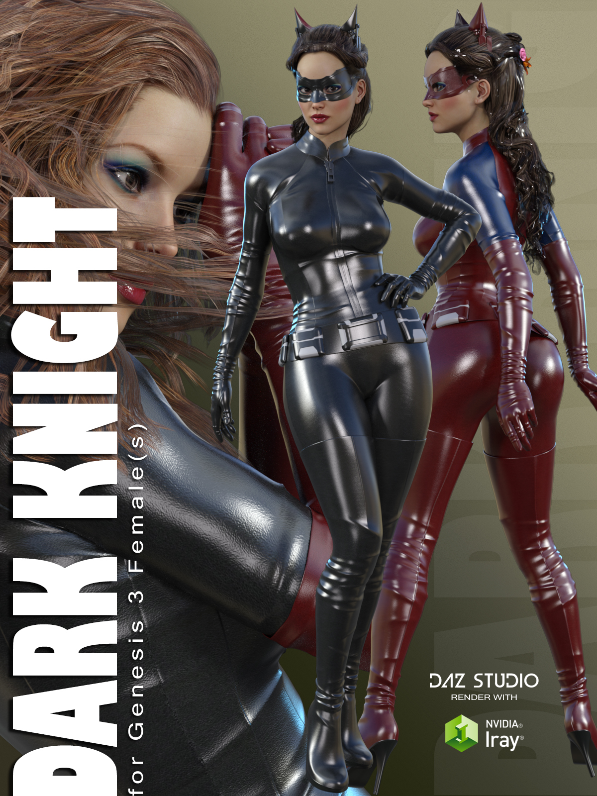 Dark Knight for Genesis 3 Female(s)