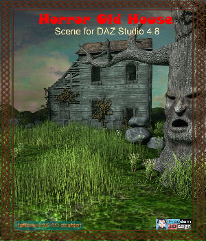 Horror Old House 3D Models JeffersonAF