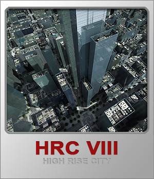 HRCVIII Glass High Rises 3D Models whitemagus