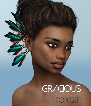Gracious for Genesis 3 Female 3D Figure Assets RedzStudio