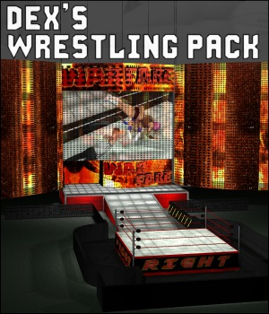 Dex's Wrestling Set 3D Models DexPac