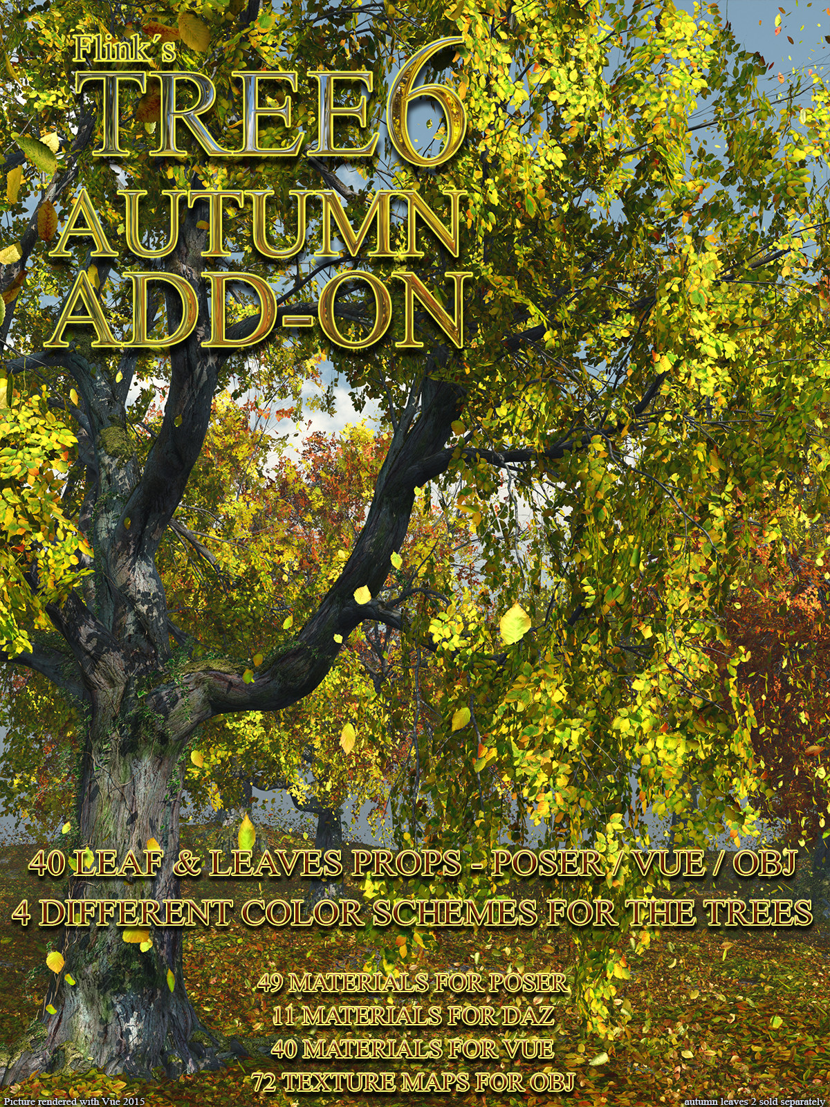 Flinks Tree 6 - Autumn Add-on