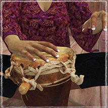 Photo Props: Ethnic Drums image 1