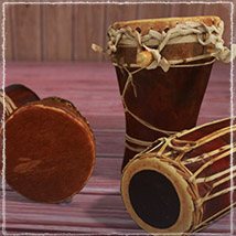 Photo Props: Ethnic Drums image 5