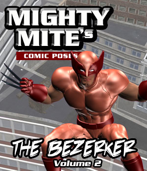 The Berserker v02 MM4M 3D Figure Assets MightyMite