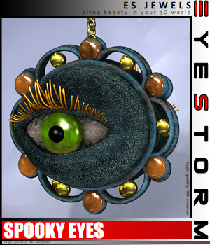 ES Spooky Eyes 3D Figure Essentials 3D Models EyeStorm