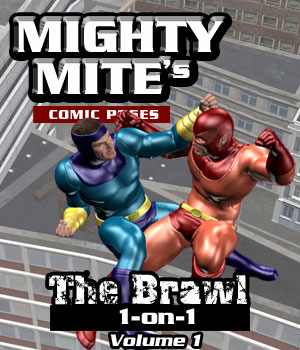 The Brawl: 1on1 v01MM4M 3D Figure Assets MightyMite