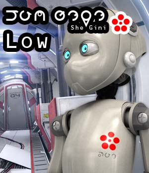 She_Gini_Low 3D Figure Essentials 3D Models circleman