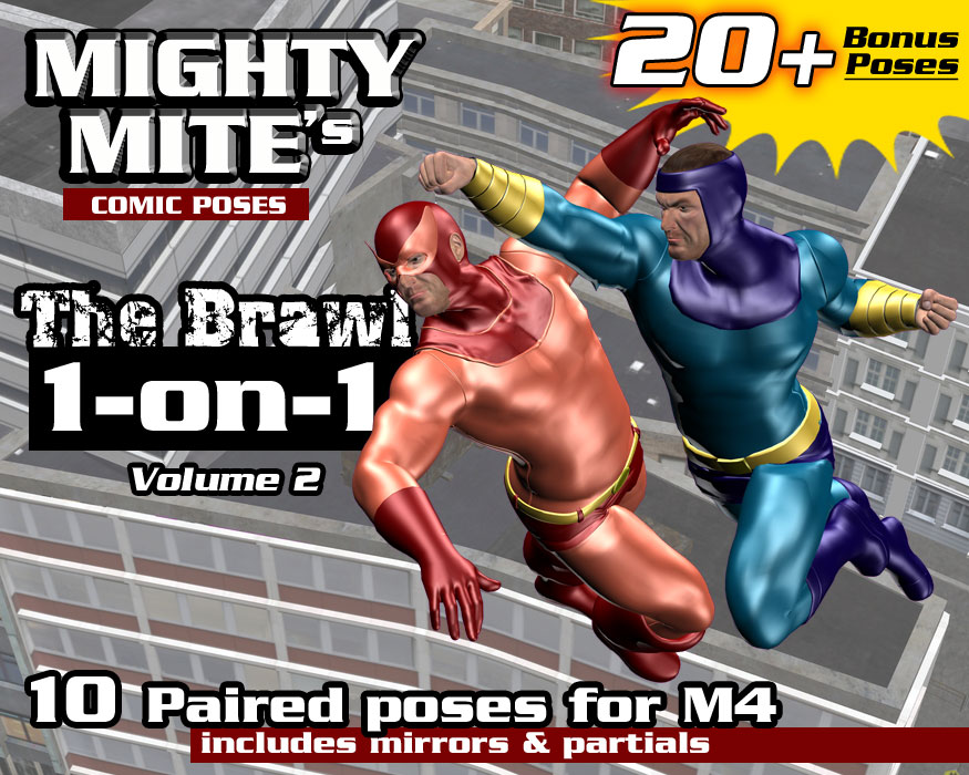 The Brawl: 1on1 v02 MM4M by MightyMite