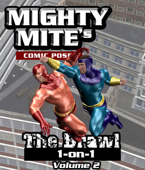 The Brawl: 1on1 v02 MM4M 3D Figure Assets MightyMite