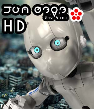 She_Gini_HD 3D Figure Essentials 3D Models circleman