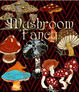 Harvest Moons Mushroom Fancy 2D Graphics Merchant Resources MOONWOLFII