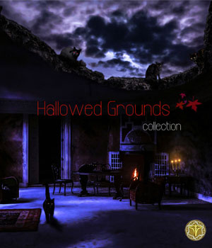 Hallowed Grounds 2D Graphics HWW0