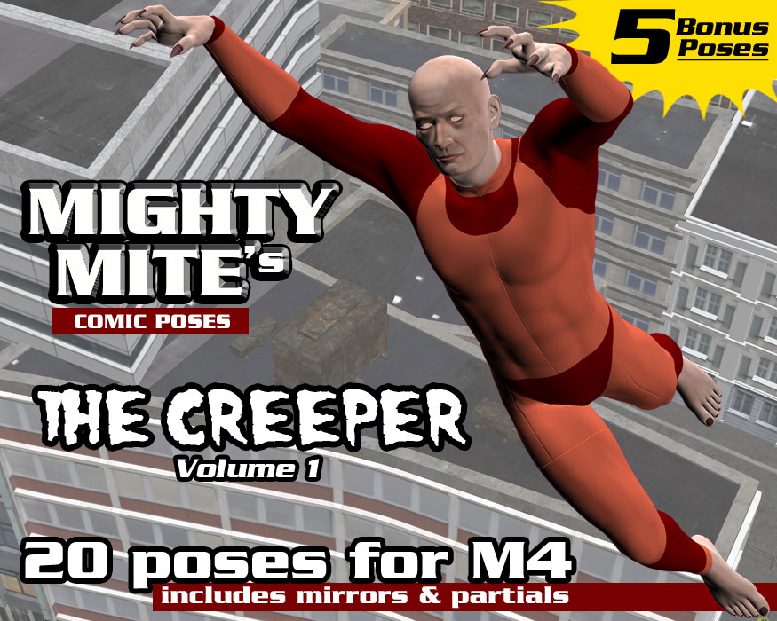 The Creeper v01  MM4M by MightyMite