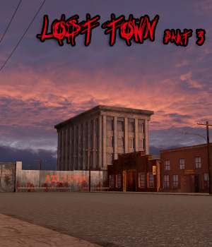 AJ Lost Town (part3) 3D Models -AppleJack-