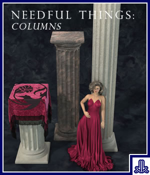 Needful Things: Columns 3D Models kobaltkween