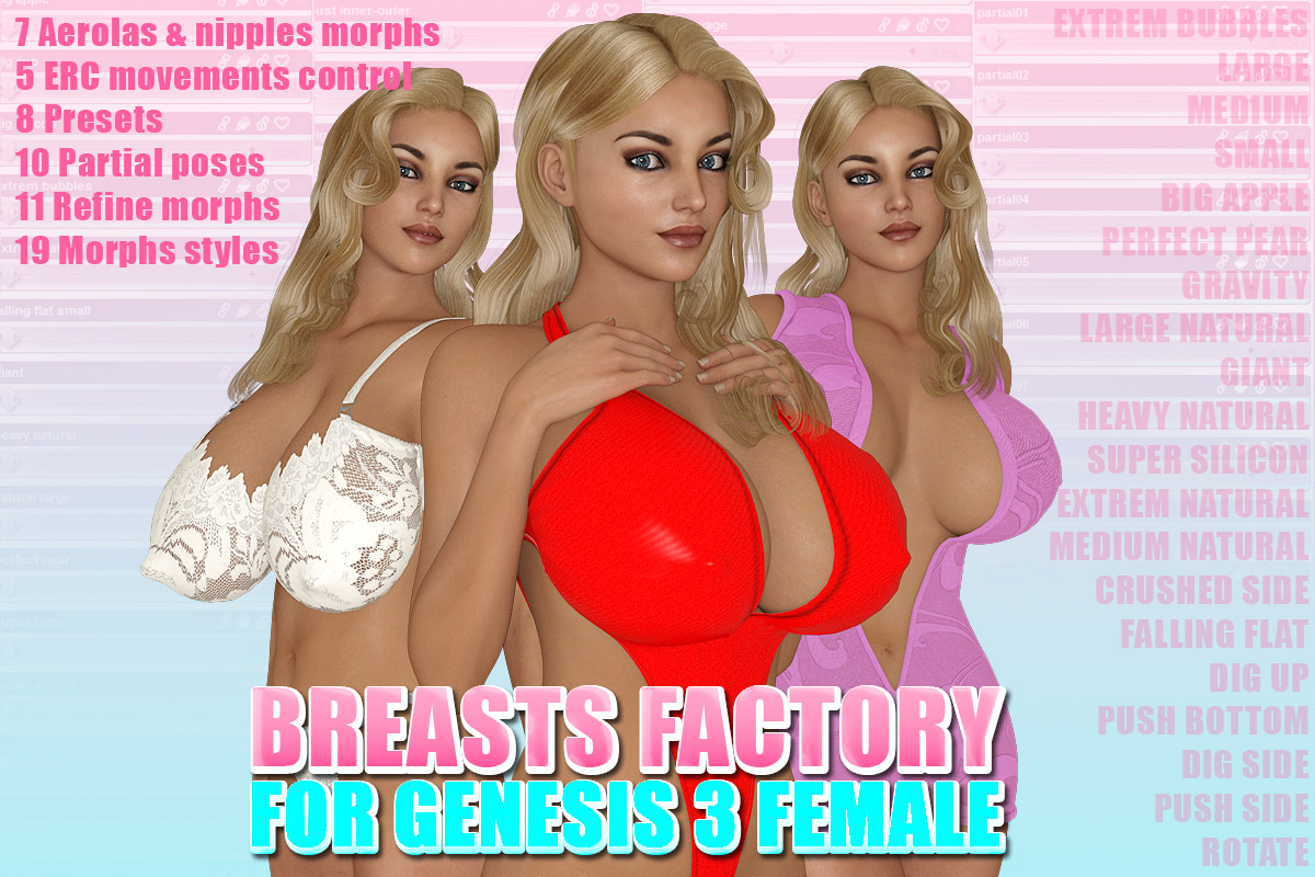 Breasts Factory for G3F