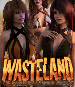 Wasteland for Sahara Wind G3 3D Figure Assets ShanasSoulmate