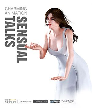 Sensual Talks for Genesis Female Characters 3D Figure Assets Reallusion Software - CC3 - iClone Reallusion