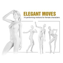 Elegant Moves for Genesis Female Characters image 2