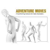 Adventure Moves for Genesis Male Characters image 2