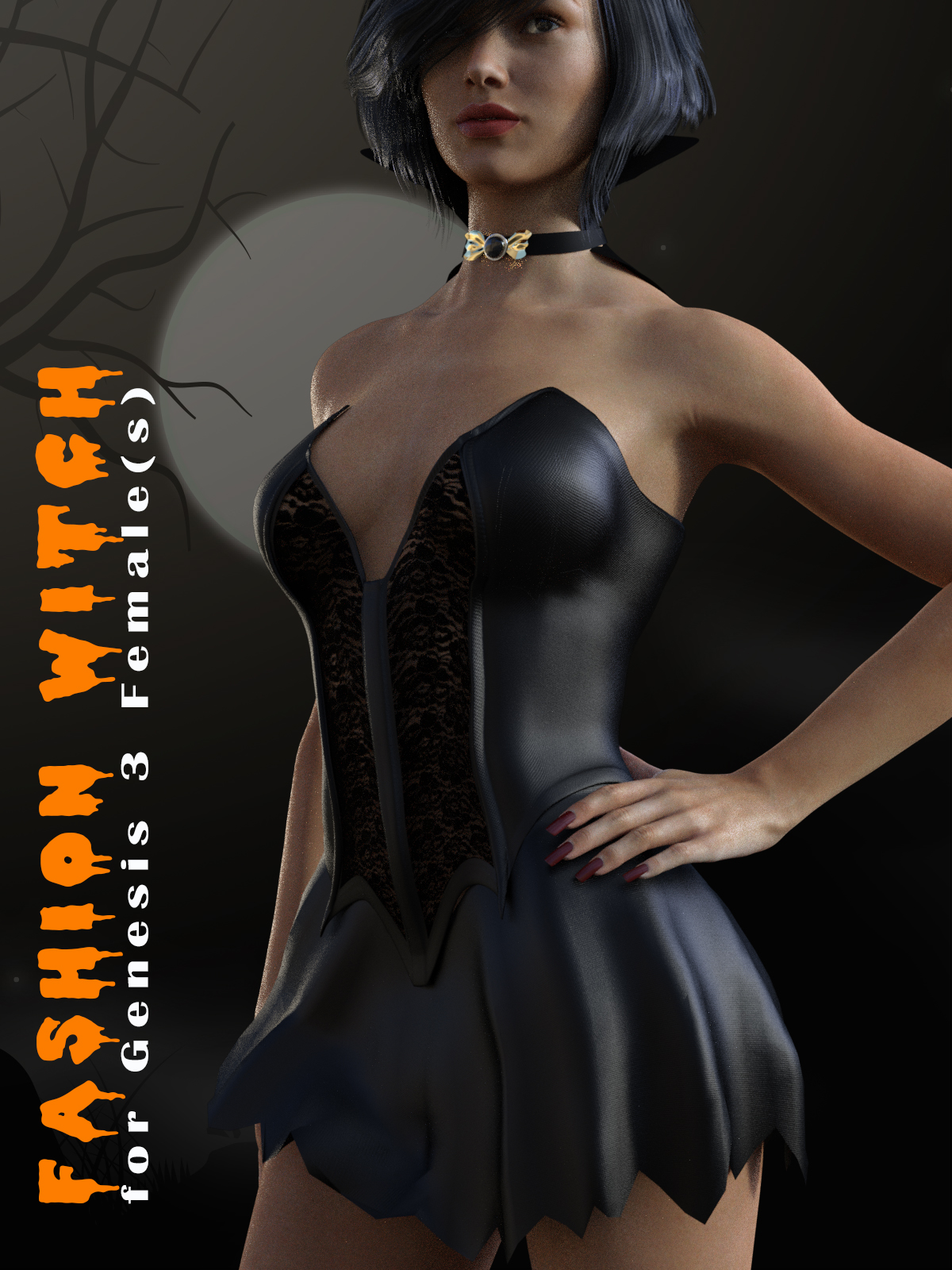 Fashion Witch for Genesis 3 F