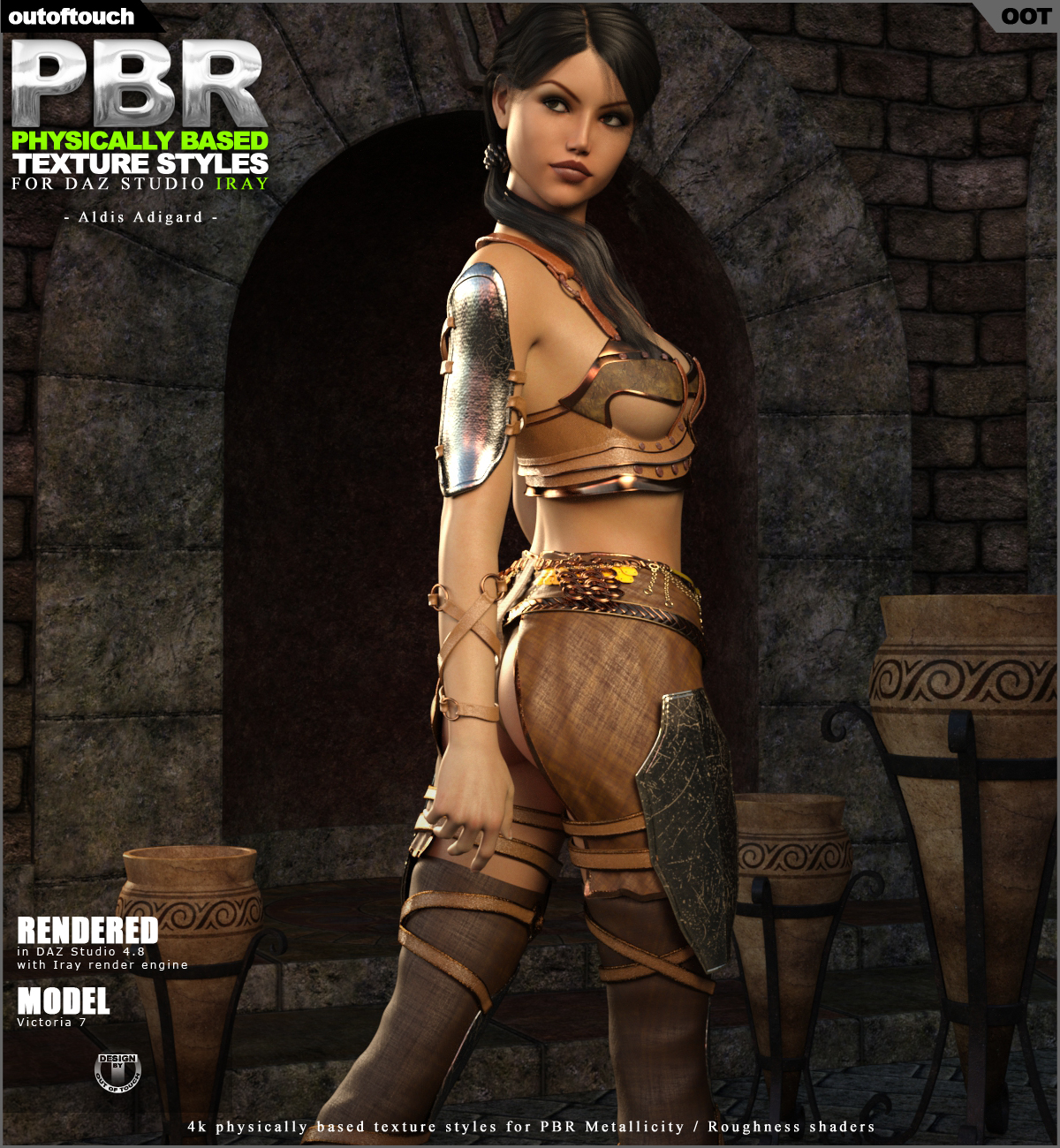 OOT PBR Texture Styles for Aldis Adigard Outfit