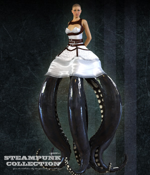 SP Octavia Real Tentacles 3D Figure Assets jonnte