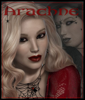 Arachne for V4.2 3D Figure Assets ilona