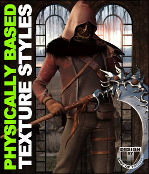 OOT PBR Texture Styles for Savage Hunter Outfit 3D Figure Essentials outoftouch