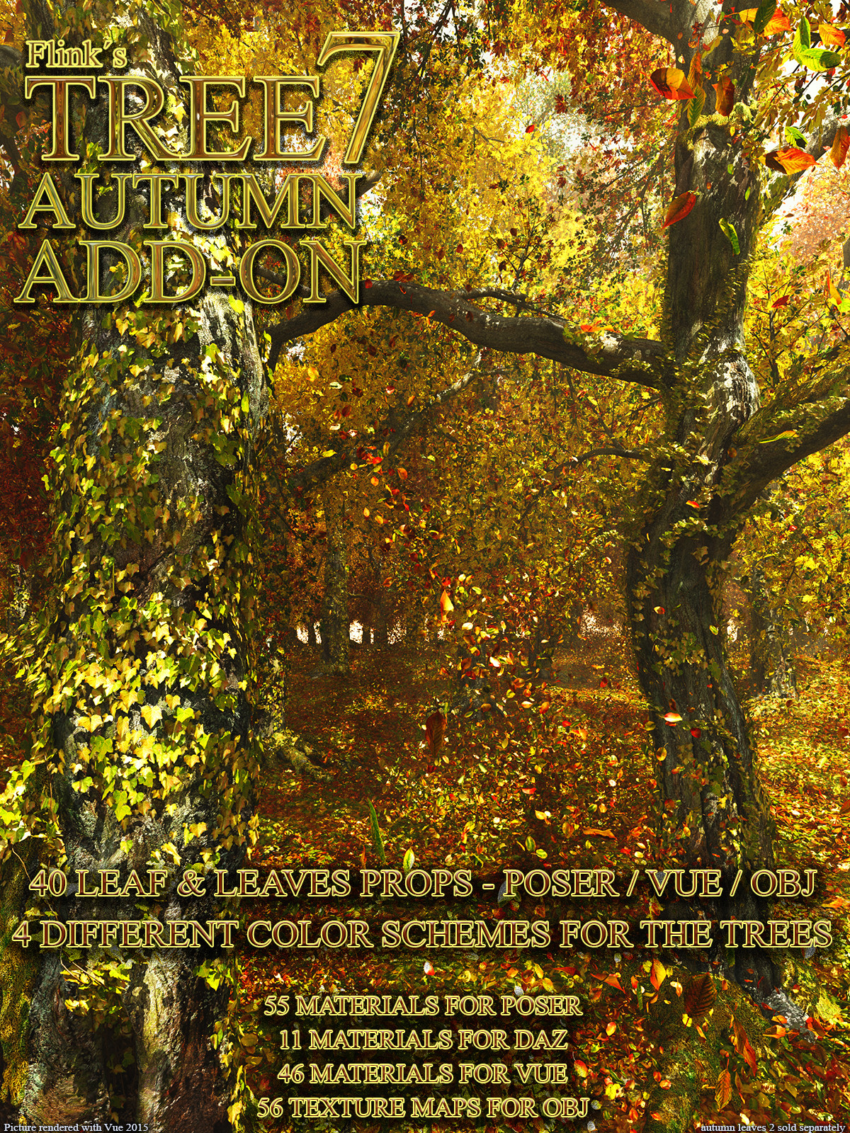 Flinks Tree 7 - Autumn Add-on
