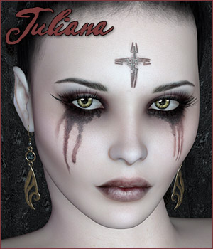 Juliana 3D Figure Assets Rhiannon
