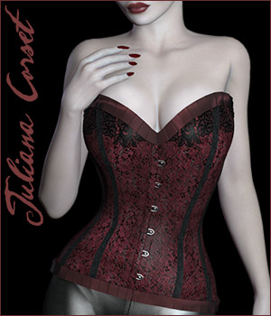 Juliana Corset 3D Figure Essentials Rhiannon