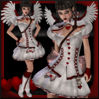 Cupid V4/A4/G4/Elite - Extended License 3D Models 3D Figure Assets Extended Licenses Propschick