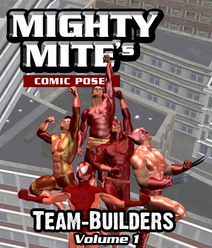 The Team-Builders v01 MM4M 3D Figure Assets MightyMite