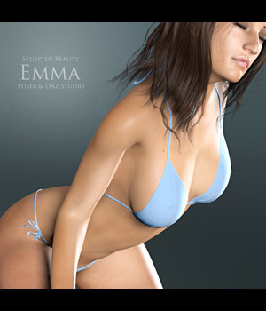 Sculpted Reality: Emma by adamthwaites 3D Figure Essentials adamthwaites