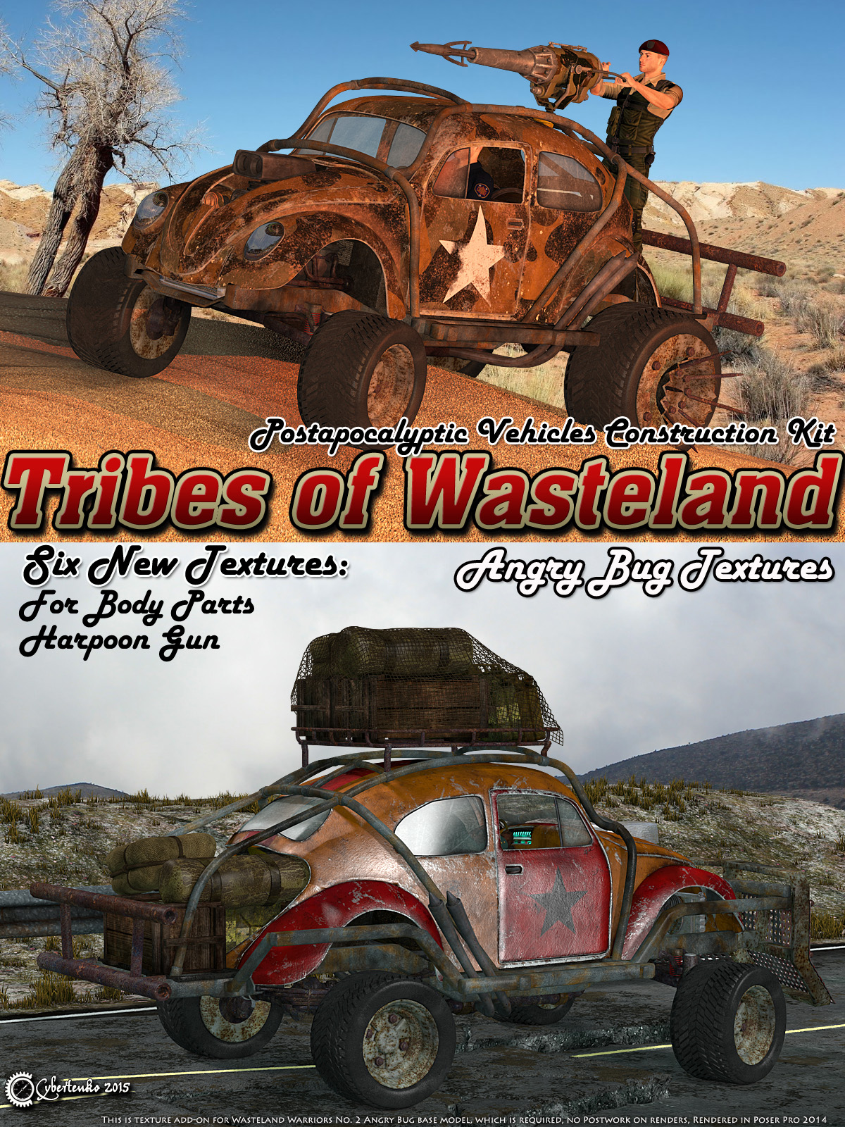 Tribes of Wasteland - Angry Bug Textures