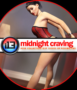 i13 Midnight Craving Mega Organized Pose Collection 3D Figure Assets ironman13