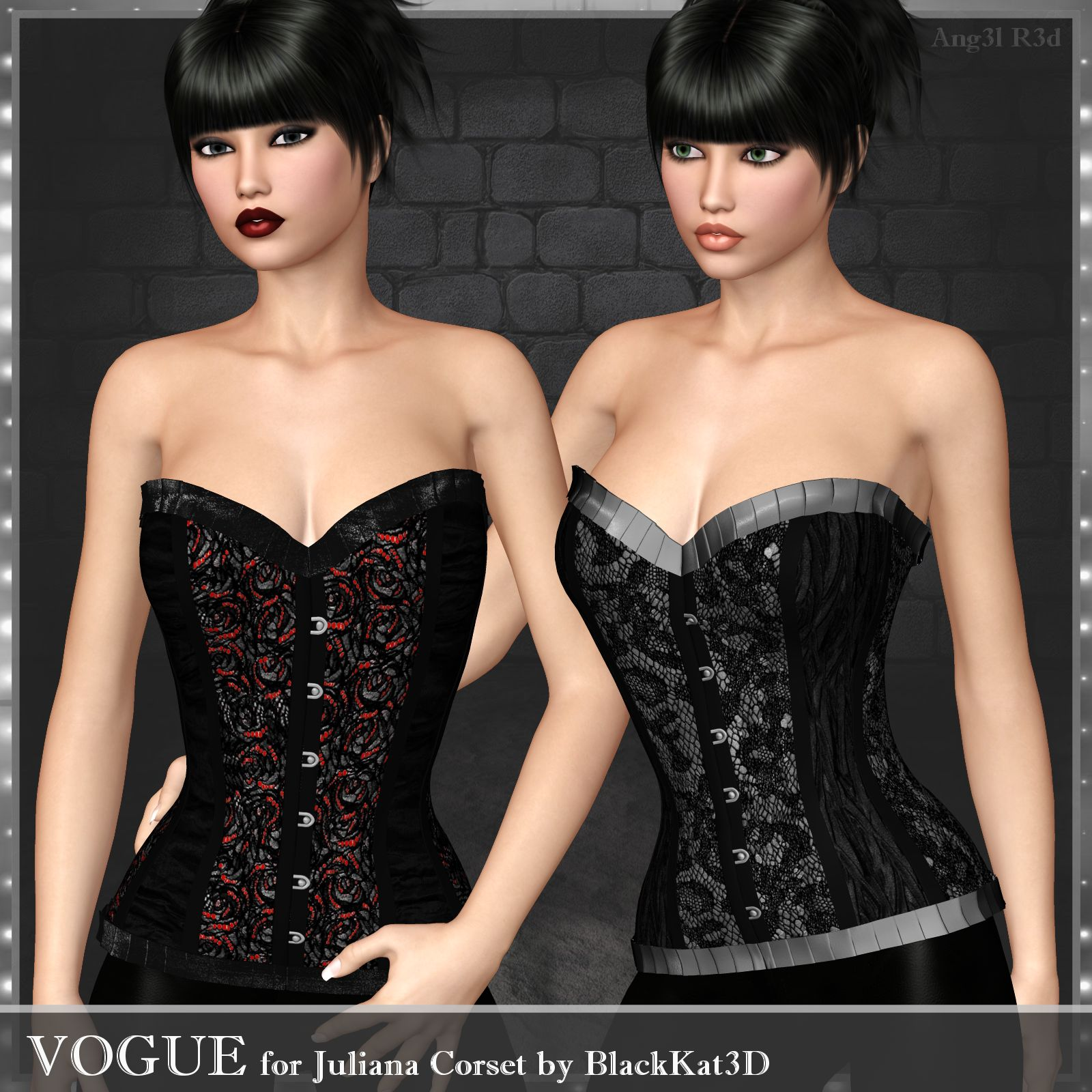 Vogue for Juliana Corset