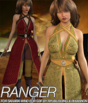 RANGER - Sahara Wind for G3F 3D Figure Essentials Anagord